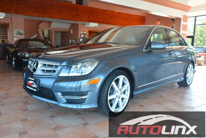 2013 MERCEDES C-Class C250 Sport Sedan 7-Speed Automatic Gray Gray Bluetooth Hands-Free Porta