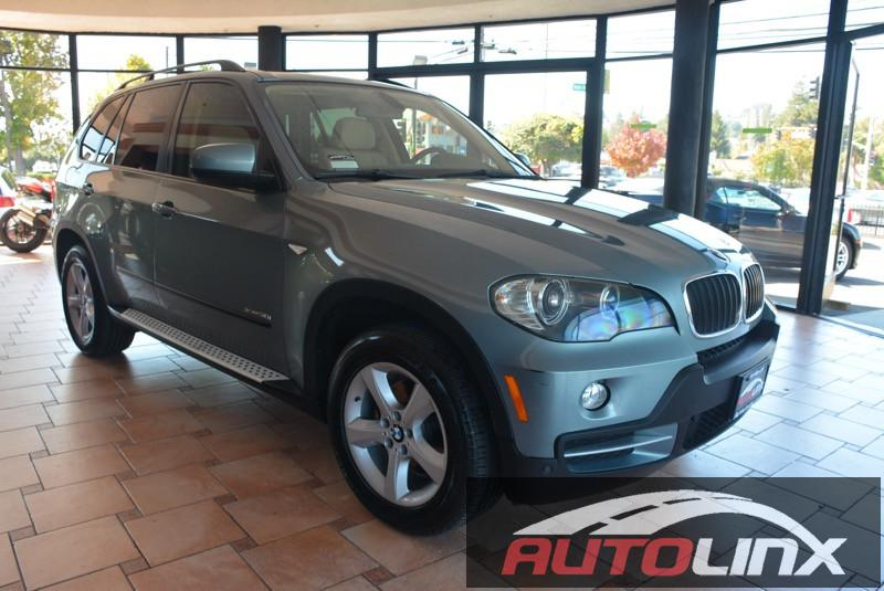 2009 BMW X5 30si AWD Sport  Technology Pkg Automatic 6-Spd Green Gray Bluetooth Hands-Free
