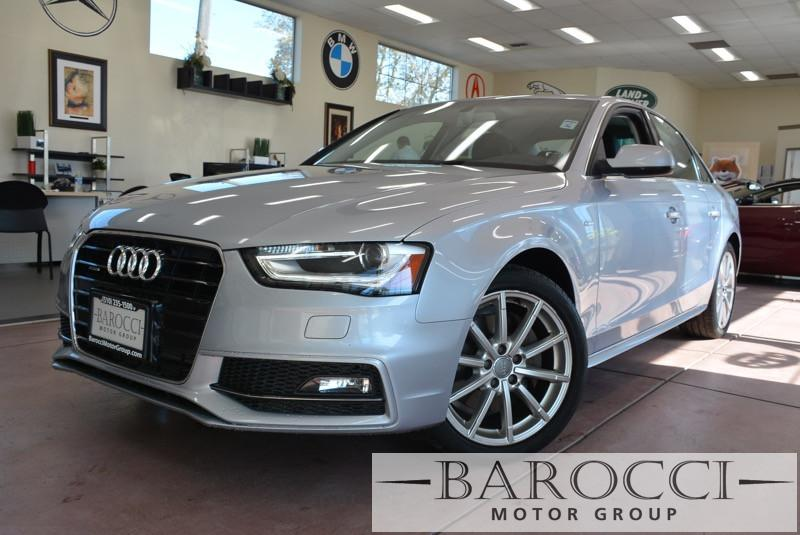 2015 Audi A4 20T quattro Prem AWD S Line 8 Speed Auto Silver Black Beautiful S-Line Package A