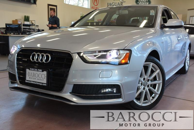 2015 Audi A4 20T quattro Prem AWD S Line 8 Speed Auto Silver Black Great looking Audi A4 Fea