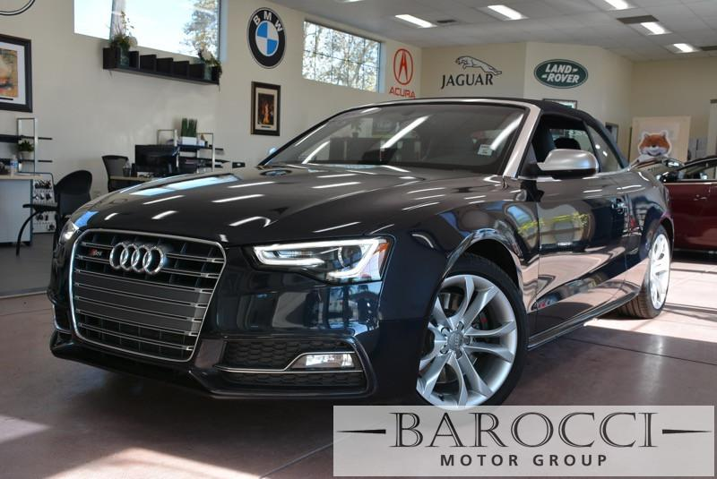 2013 Audi S5 30T quattro Premium Plu AWD 7 Speed Auto Dk Blue Off White Beautiful S5 with a t