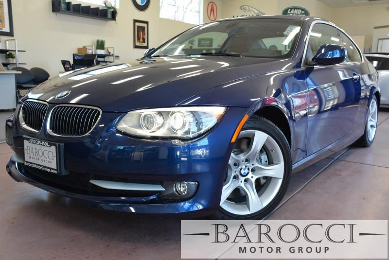 2013 BMW 3 Series 335i 2dr Coupe 6 Speed Manual Blue Brown This is a fantastic coupe Includes P