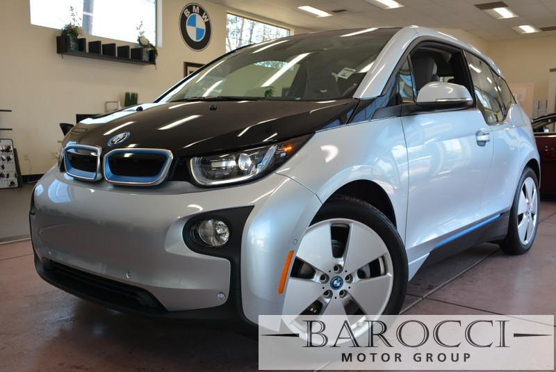 2014 BMW i3 Base i3 4dr Hatchback 1 Speed Auto Silver Off White Beautiful I3 BMW Loaded with o