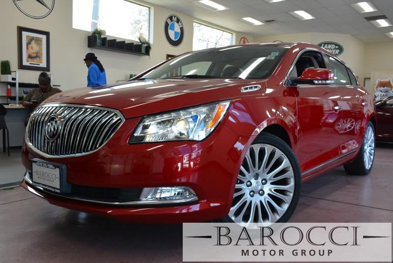 2014 Buick LaCrosse Premium II 4dr Sedan 6 Speed Auto Red Black Beautiful Lacrosse comes loade
