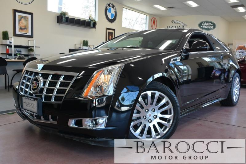 2013 Cadillac CTS 36L Performance AWD  2dr Coupe 6 Speed Auto Black Black Beautiful CTS Loaded