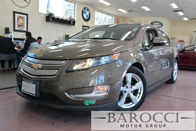 2014 Chevrolet Volt Base 4dr Hatchback 1 Speed Auto Bronze Tan Great vehicle complete with Rear