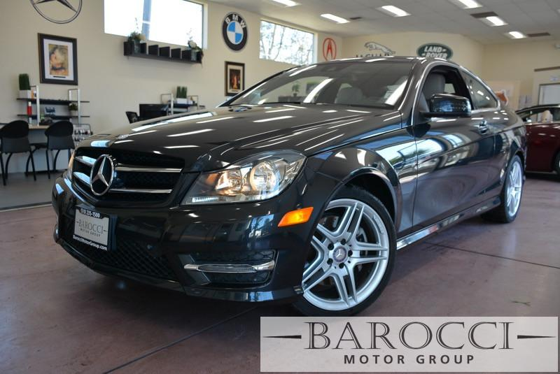 2014 MERCEDES C-Class C350 2dr Coupe 7 Speed Auto Charcoal Black Gorgeous C350 Coupe with so ma