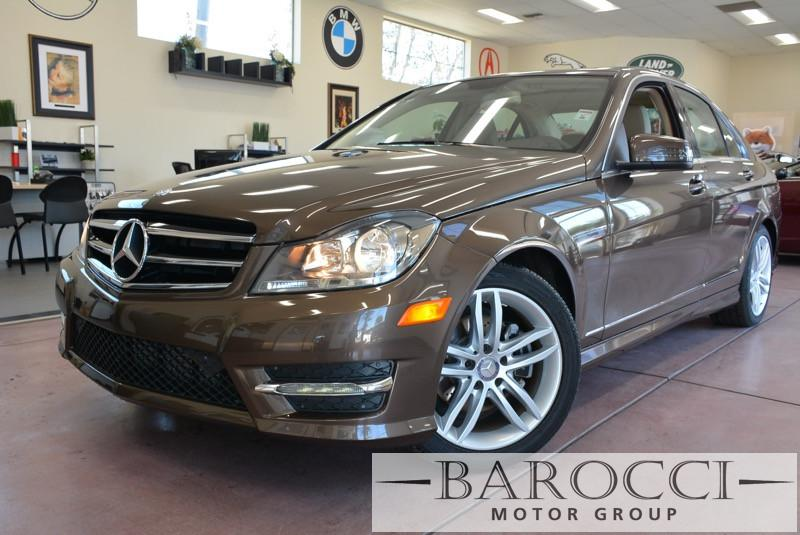2014 MERCEDES C-Class C250 Luxury 4dr Sedan Automatic Dk Brown Beige Beautiful Bronze C-Class