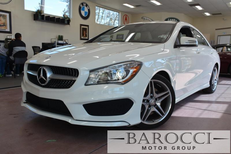 2014 MERCEDES CLA CLA250 AMG Pkg 4dr Sedan 7 Speed Auto White Beige This is a beautiful vehicle