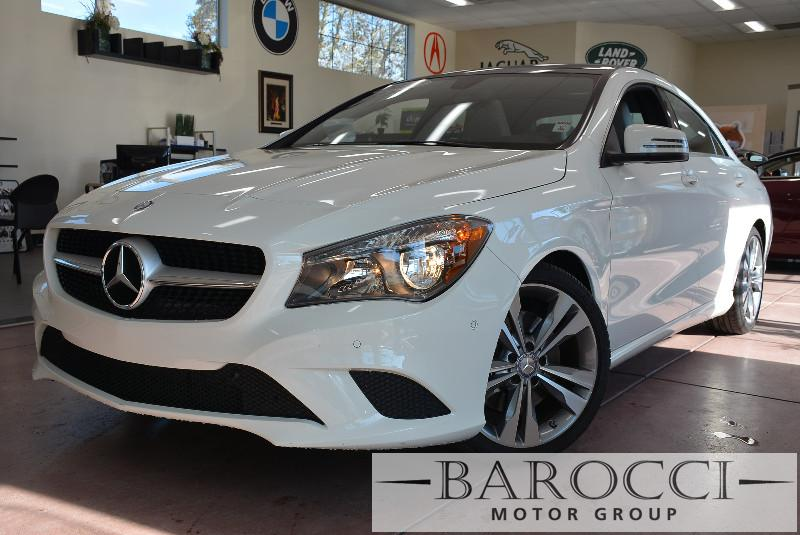 2014 MERCEDES CLA CLA250 4dr Sedan 7 Speed Auto White White This is a beautiful vehicle in grea