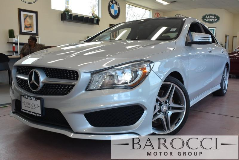 2014 MERCEDES CLA CLA250 AMG Pkg 4dr Sedan 7 Speed Auto Silver Black This is a beautiful vehicl