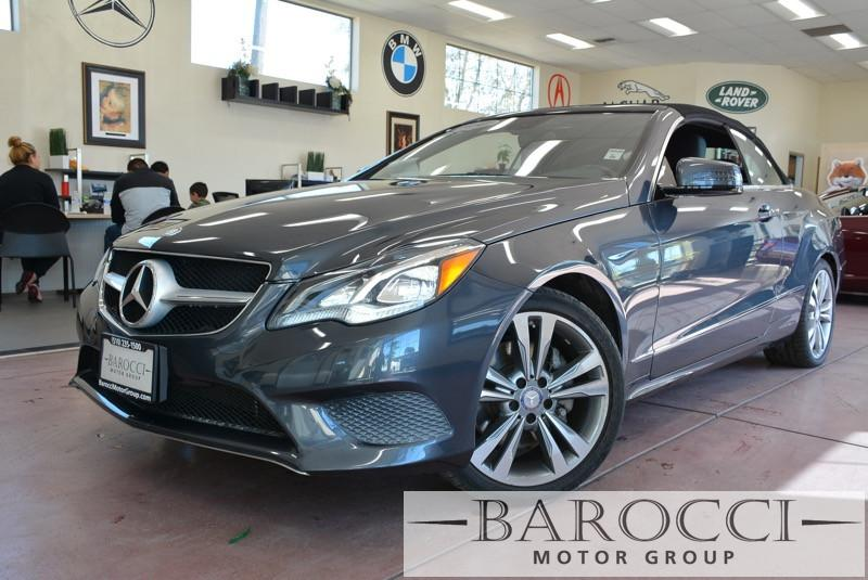 2014 MERCEDES E-Class E350 2dr Convertible 7 Speed Auto Gray Black Fully Loaded with options O