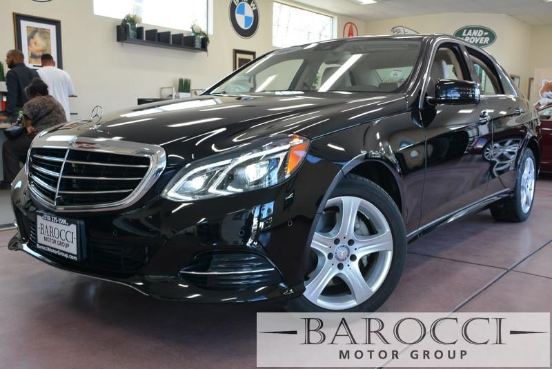2014 MERCEDES E-Class E350 Luxury 4dr Sedan Automatic Black Beige Comes with the Premium 1 and