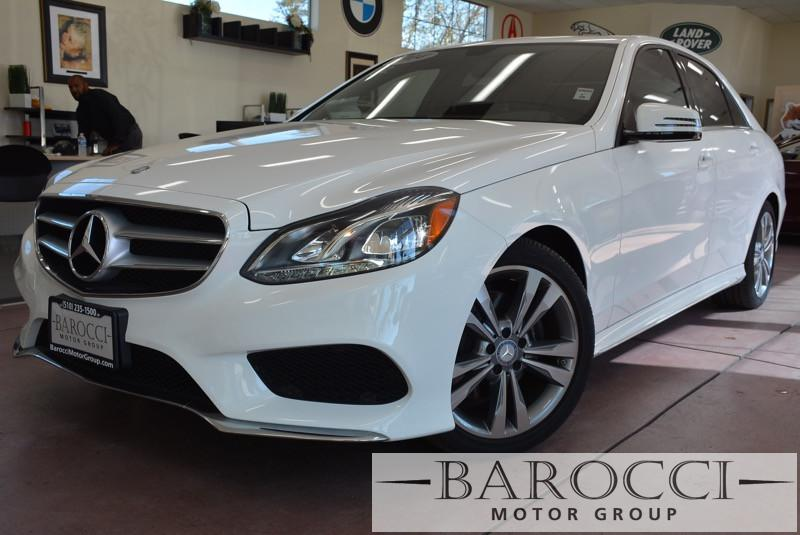 2014 MERCEDES E-Class E350 Sport4dr Sedan Automatic White Black Comes with the Premium Harman