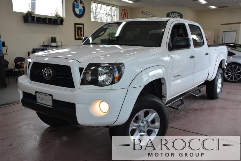 2007 Toyota Tacoma PreRunner V6 4dr Double Cab 61 ft 5 Speed Auto White Child Safety Door Lock