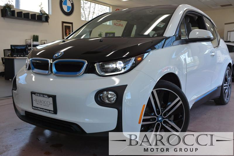 2014 BMW i3 MEGA I3 4dr Hatchback 1 Speed Auto White Vehicle Anti-Theft ABS Brakes Electronic