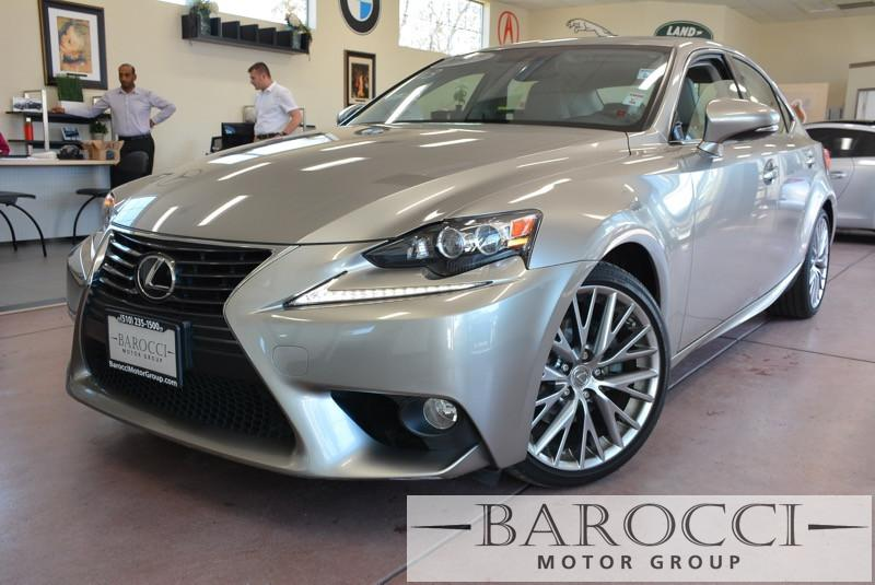 2014 Lexus IS 250 Base 4dr Sedan 6 Speed Auto Silver Child Safety Door Locks Power Door Locks