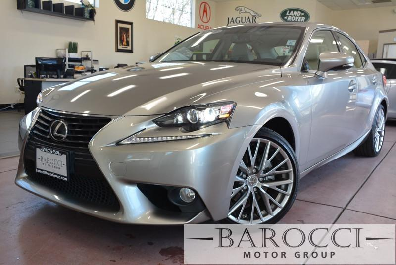 2014 Lexus IS 250 Base 4dr Sedan 6-Speed Automatic Silver This is a beautiful vehicle in great c