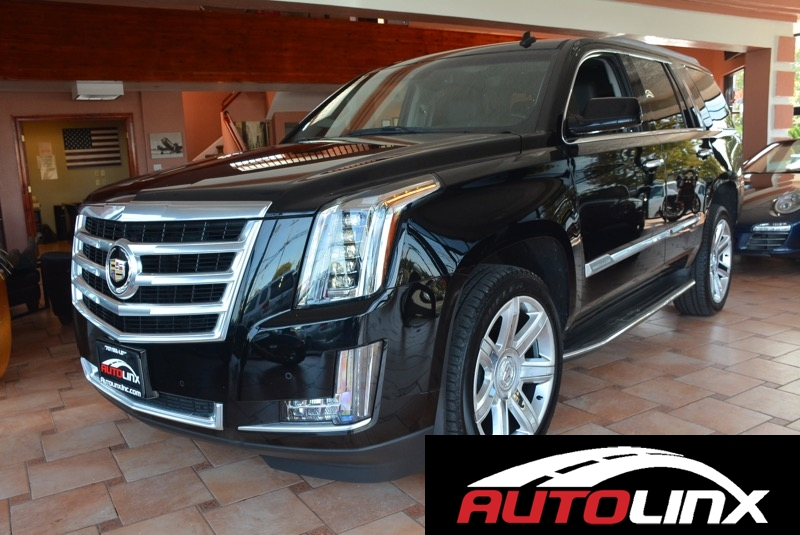 2015 Cadillac Escalade Luxury 4WD 6-Speed Automatic Black Black Bluetooth Hands-Free Portable