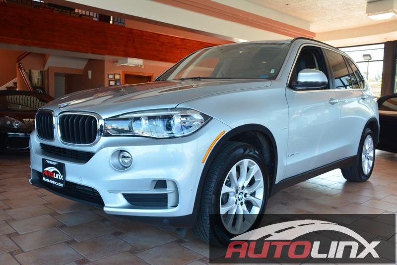 2016 BMW X5 xDrive35i 8-Speed Automatic Silver Black Bluetooth Hands-Free Portable Audio Conn