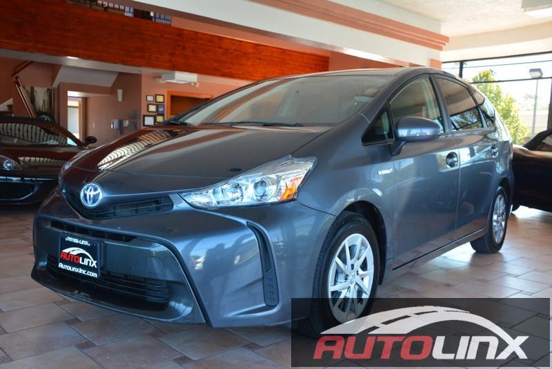 2015 Toyota Prius V 4D Hatchback Automatic Gray Green 18L 4-Cylinder DOHC 16V VVT-i Aluminum