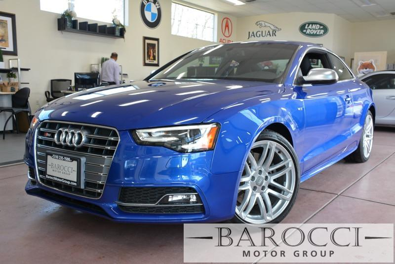 2015 Audi S5 30T quattro Premium AWD  2dr Coupe 7 Speed Auto Blue ABS Air Conditioning Alarm