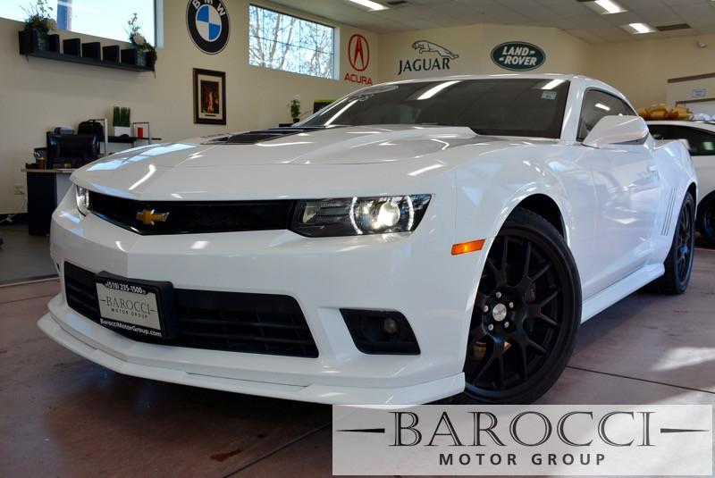 2014 Chevrolet Camaro SS 2dr Coupe w2SS 6 Speed Auto White ABS Air Conditioning Alarm Alloy