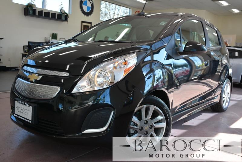 2014 Chevrolet Spark EV 1LT 4dr Hatchback 1 Speed Auto Black Air Conditioning Alarm Power Stee
