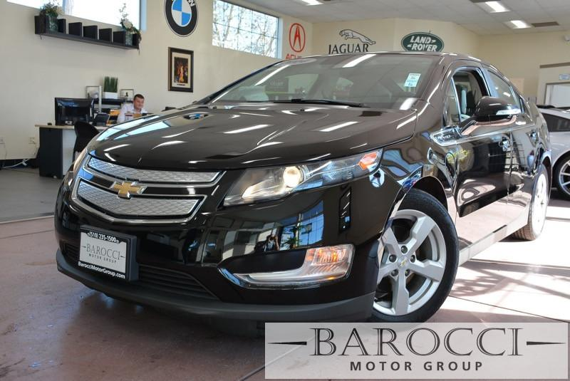 2014 Chevrolet Volt Base 4dr Hatchback 1 Speed Auto Black Carpool Lane Stickers XM Radio ABS