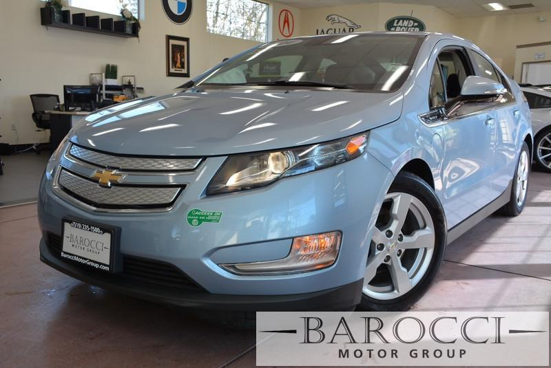 2014 Chevrolet Volt Premium 4dr Hatchback 1 Speed Auto Blue HOV Full Leather Interior Enhanced