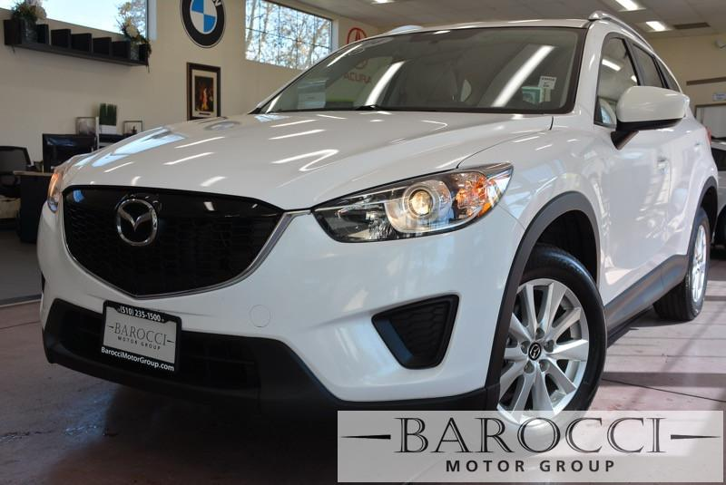 2014 Mazda CX5 Sport 4dr SUV 6M Automatic White Beige Beautiful CX-5 in great shape 1-Owner le