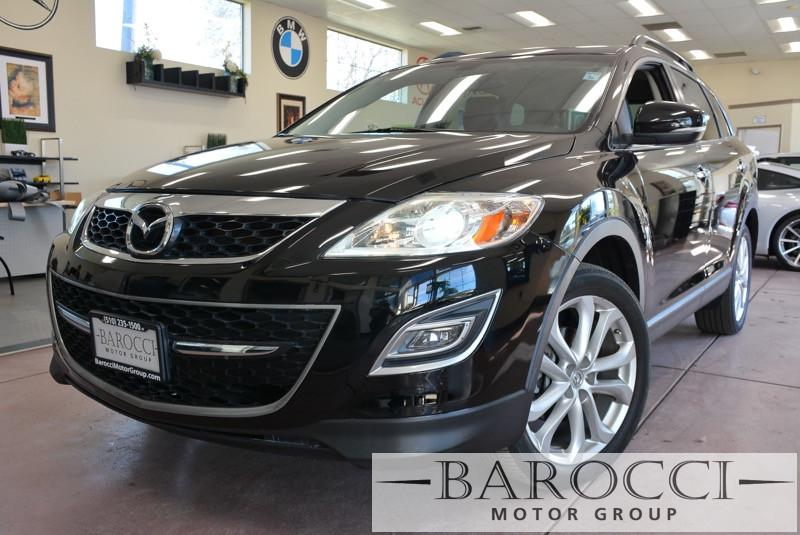 2012 Mazda CX-9 Grand Touring AWD  4dr SUV 6 Speed Auto Black ABS Air Conditioning Alarm Allo