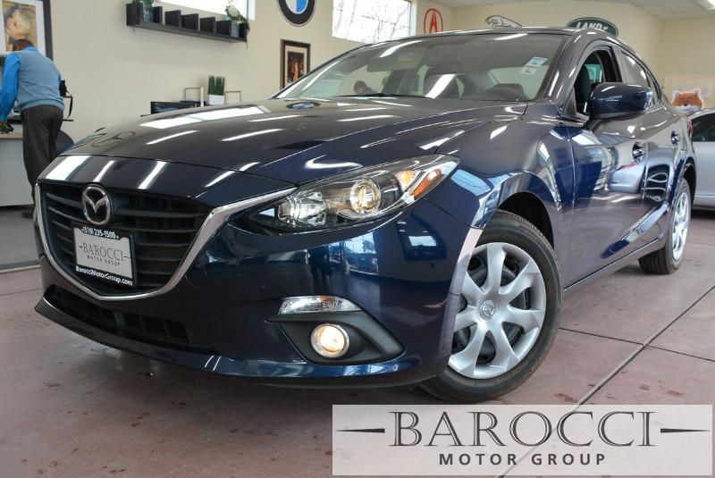 2015 Mazda MAZDA3 i Sport 4dr Sedan 6M 6 Speed Man Blue ABS Air Conditioning Alarm Alloy Whe