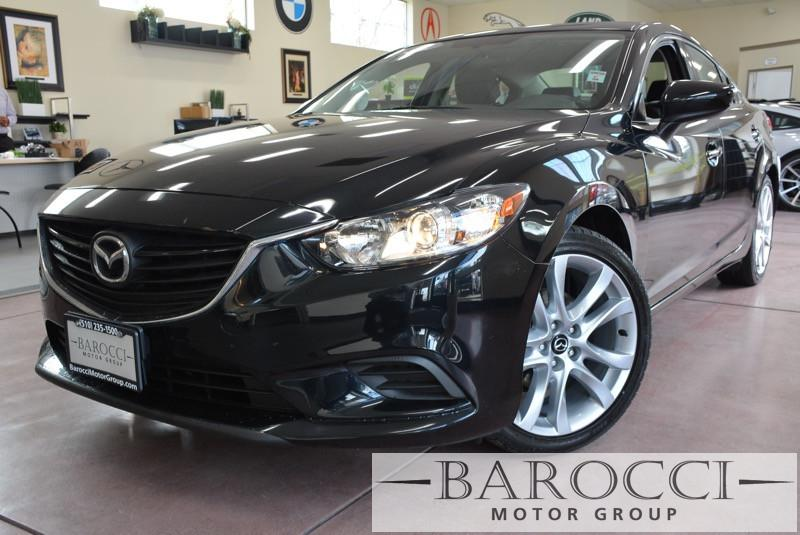 2014 Mazda MAZDA6 i Touring 4dr Sedan 6A 6 Speed Auto Black ABS Air Conditioning Alarm Alloy