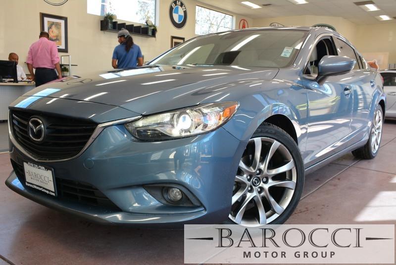2015 Mazda MAZDA6 i Grand Touring 4dr Sedan 6 Speed Auto Blue ABS Air Conditioning Alarm Allo
