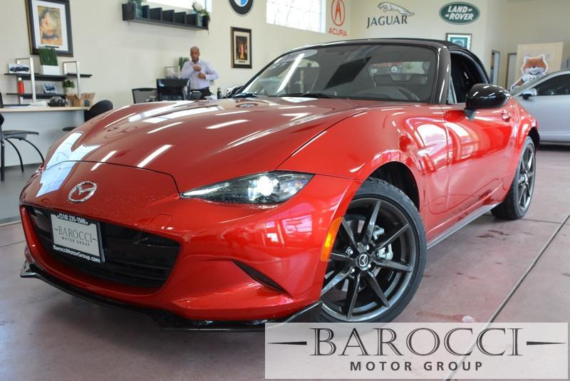 2016 Mazda MX5 Miata Club 2dr Convertible 6A 6 Speed Auto Red ABS Air Conditioning Alarm Allo