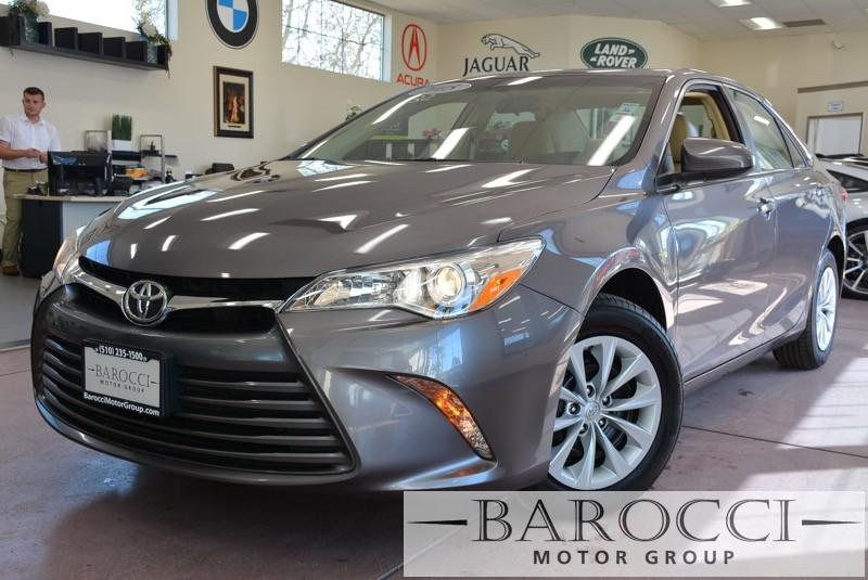 2015 Toyota Camry LE 4dr Sedan 6 Speed Auto Gray Air Conditioning Alarm Power Steering Power