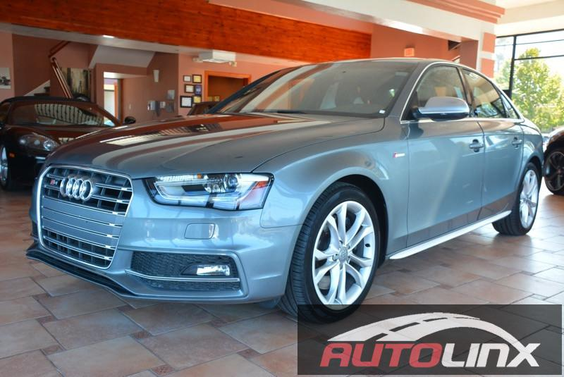 2014 Audi S4 Sedan quattro S tronic 7-Speed Automatic Gray Gray Bluetooth Hands-Free Portable