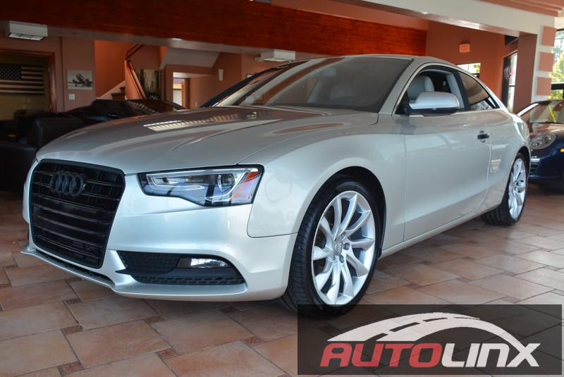 2013 Audi A5 20T quattro Premium Plus 6-Speed Automatic Gold Bluetooth Hands-Free Portable Au