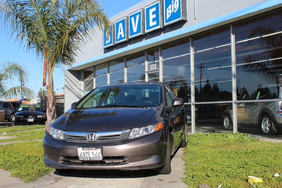 2012 Honda Civic LX Sedan 5-Speed AT 5-Speed Automatic Brown Tan This is a beautiful vehicle in