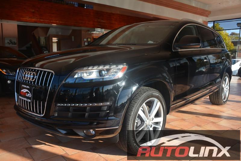 2014 Audi Q7 30T Premium Plus quattro 8-Speed Automatic Black Black Bluetooth Hands-Free Por