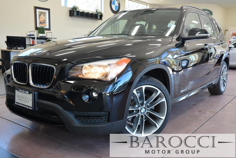 2014 BMW X1Sport sDrive28i 4dr SUV Sport Pkg 8 Speed Auto Black Black Beautiful 2014 BMW X1 has