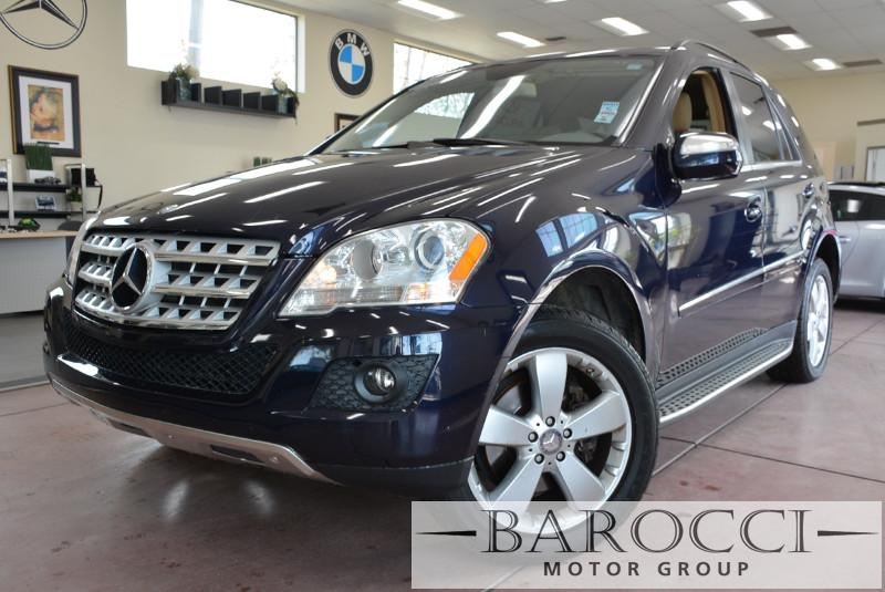 2010 MERCEDES M-Class ML350 4MATIC AWD 4dr SUV 7 Speed Auto Blue Beige This is a fantastic SUV