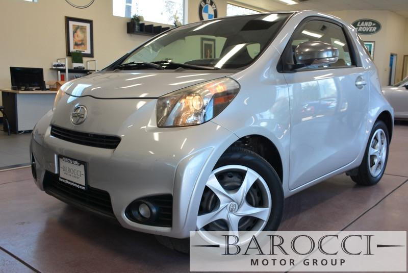 2012 Scion iQ Base 2dr Hatchback Automatic CVT Silver ABS 4-Wheel Air Conditioning AM FM Stere