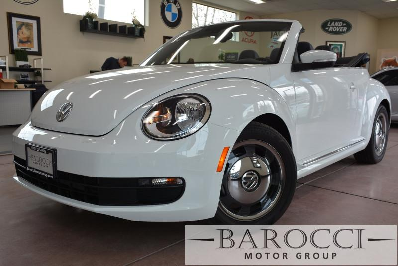 2016 Volkswagen Beetle 18T S PZEV 2dr Convertible 6A 6 Speed Auto White Gray Beautiful Convert