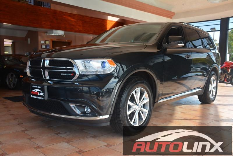 2015 Dodge Durango Limited 2WD 8-Speed Automatic Black Black Bluetooth Hands-Free Portable Au