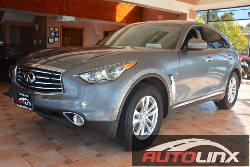 2016 Infiniti QX70 Base 7-Speed Automatic Gray Black Bluetooth Hands-Free Portable Audio Conn