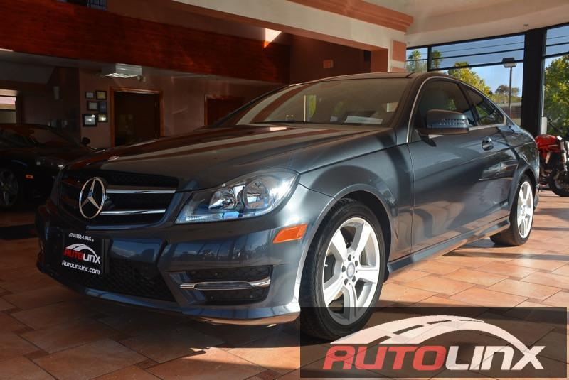 2014 MERCEDES C-Coupe C250 7-Speed Automatic Gray Black Mercedes-Benz FEVER Dont bother lookin