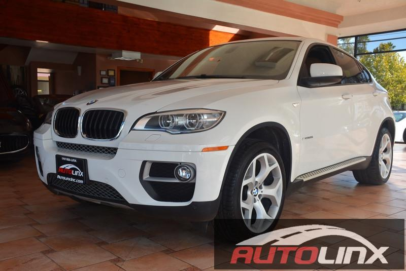 2013 BMW X6 XDrive35i 4D Automatic White Black Bluetooth Hands-Free Portable Audio Connection