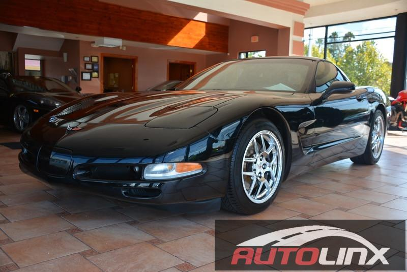 2004 Chevrolet Corvette Coupe 2D Automatic Black Black Come to AutoLinx Inc No games just bu